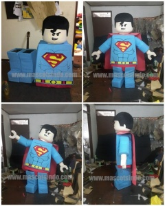 Kostum Lego Superman